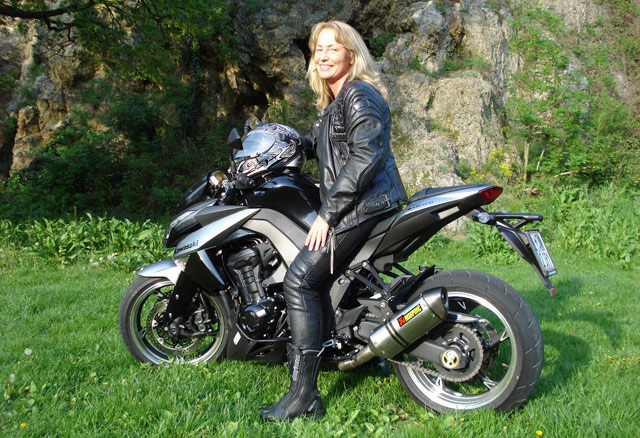 Single frauen motorrad