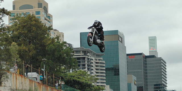 Harley Rekordsprung - Event