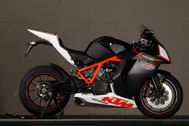Testbericht: KTM RC8-R - 1000PS.at Red Bull Wallpaper